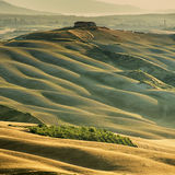 Sunset in Tuscany Stock Photography