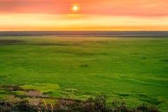 Sunset from Ubirr Rock, NT, Australia. royalty free stock photo