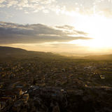 Sunset in Uchisar Royalty Free Stock Image