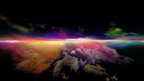 Sunset Unfolding stock image