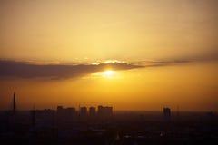 Sunset urban Royalty Free Stock Images