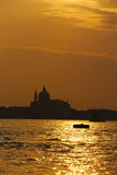 Sunset In Venice Stock Photography