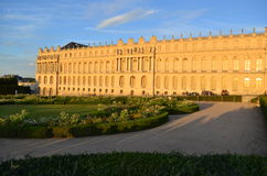 Sunset on Versailles Castle - France Stock Images