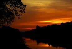 The sunset Stock Photo