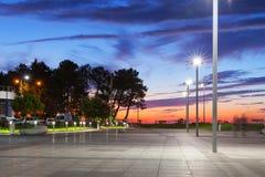 Sunset view of Batumi Stock Images