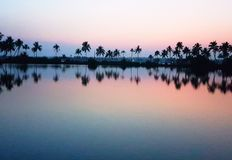 After sunset view Royalty Free Stock Photo
