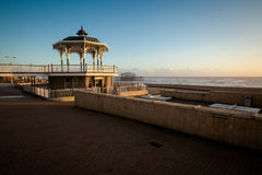 Sunset view on beautiful Brighton bandstand Stock Photography