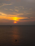 Sunset view Royalty Free Stock Images
