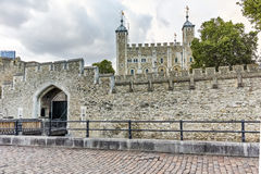 Sunset view of Historic Tower of London, England Stock Photography