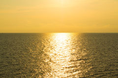 Sunset view Stock Images