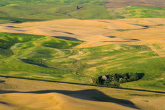 Sunset view of Palouse Royalty Free Stock Image