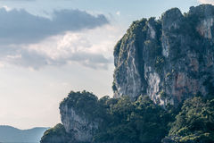 Sunset. View from Railay Beach . Thailand several minutes before sunset Stock Photos