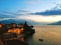 Varenna, Italy stock images