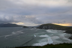 Sunset viewpoint, Dingle Peninsula, County Kerry Royalty Free Stock Images