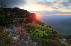 Sunset Views Katoomba Blue Mountains Stock Photos