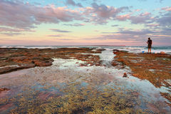 Sunset at Vincentia NSW Australia Stock Photo