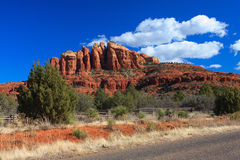 Sunset Vista of Sedona, Arizona Stock Image