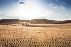 Sunset Wahiba Oman Royalty Free Stock Photo