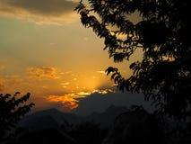 Sunset. Wait for sunset Royalty Free Stock Photo