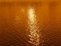 Sunset water background Royalty Free Stock Photos