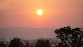 Sunset in Waterberg Royalty Free Stock Images