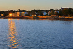 Sunset Waterfront Saint Andrews Royalty Free Stock Photography