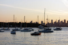 Sunset at Watsons Bay, Sydney, Australia Royalty Free Stock Photo