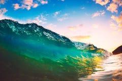 Sunset Wave Stock Photos