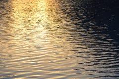 Sunset wavelets Stock Photo