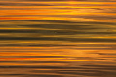 Sunset waves background. Water waves against sunset for nature backgrounds Stock Photography