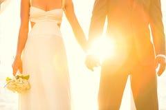 Sunset Wedding Royalty Free Stock Image