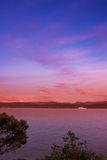 Sunset - Wellington, New Zealand Stock Photos
