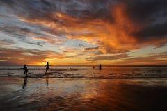 Sunset west australia Royalty Free Stock Images
