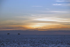 Sunset westerschelde vlissingen Stock Photos