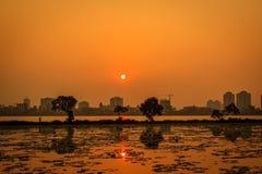 Sunset on westlake Stock Images