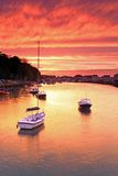 Sunset Weymouth Harbour England Royalty Free Stock Image