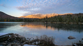 Sunset in the White Mountains Stock Photos