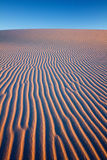 Sunset at White Sands National Monument Royalty Free Stock Image