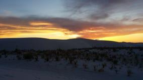 Desert Sunset stock images