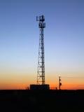 sunset wieży Obraz Royalty Free