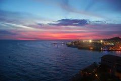sunset willemstad Στοκ φωτογραφίες με δικαίωμα ελεύθερης χρήσης