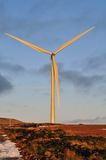 Sunset Wind Turbine Royalty Free Stock Images