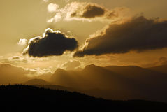 Sunset - Windermere Stock Photography