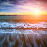 Sunset in Yalta Stock Photos
