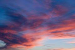 Sunset5 sangriento Imagen de archivo