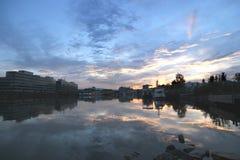 Sunsetreflection Stock Photos