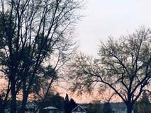 sunsets στοκ εικόνες