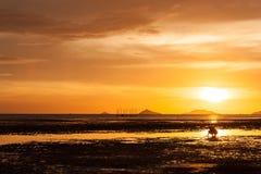 Sunsets, υπόβαθρο Στοκ Εικόνες