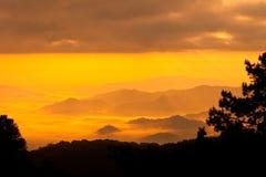 sunsets стоковая фотография