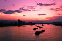 Sunsets Stock Afbeeldingen